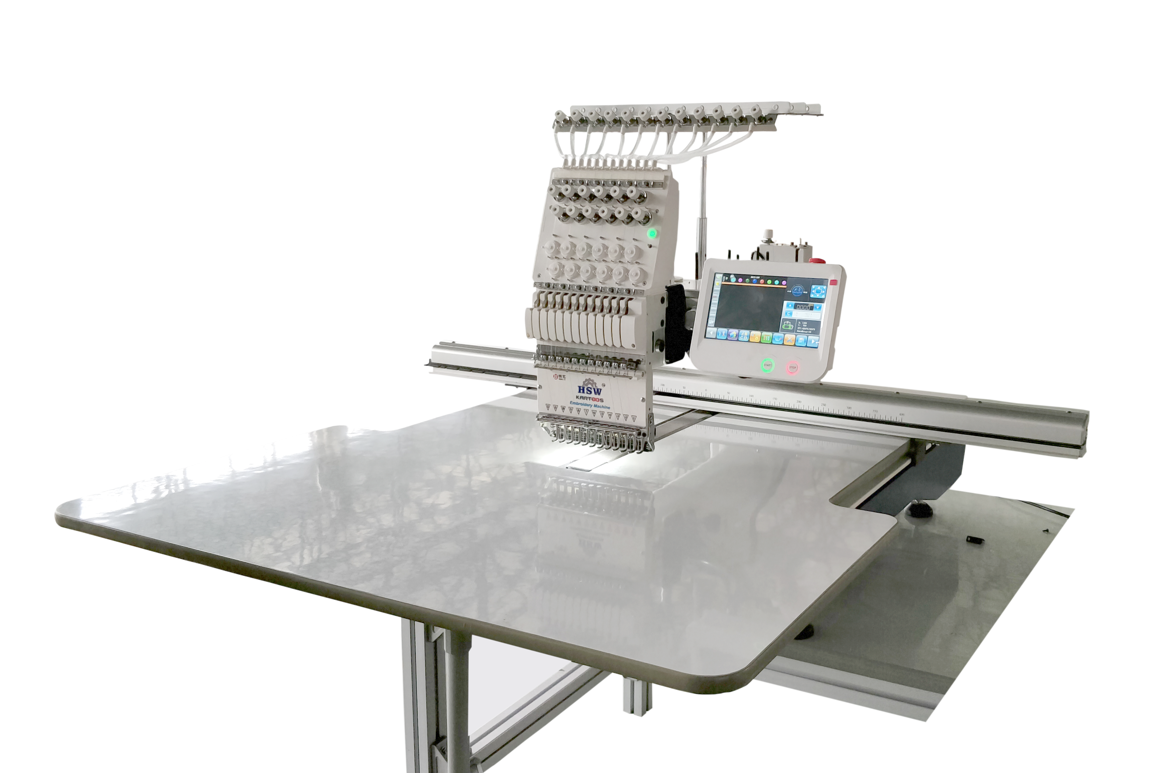 Full Single Head Embroidery Machine