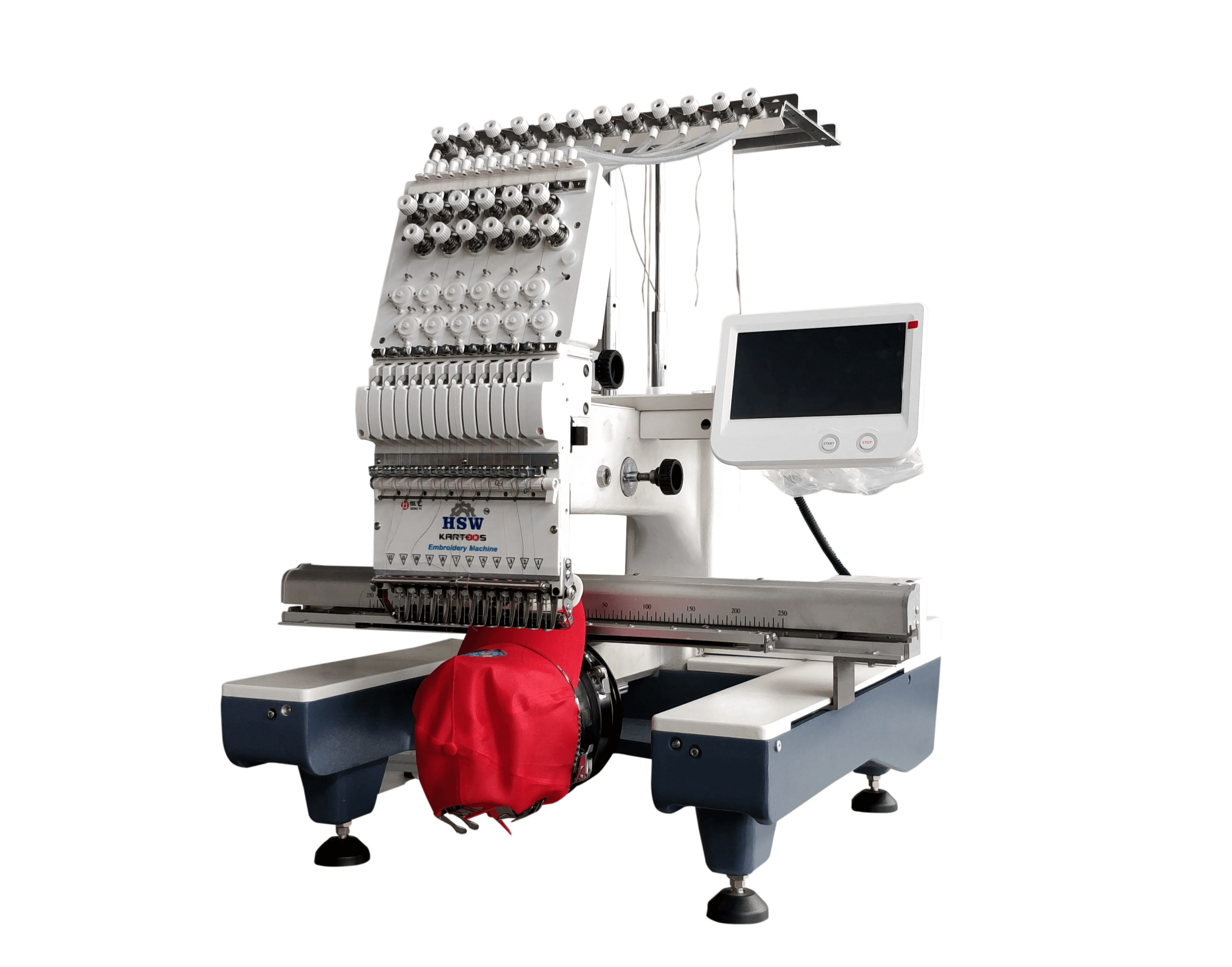 Single Head Embroidery Machine 2
