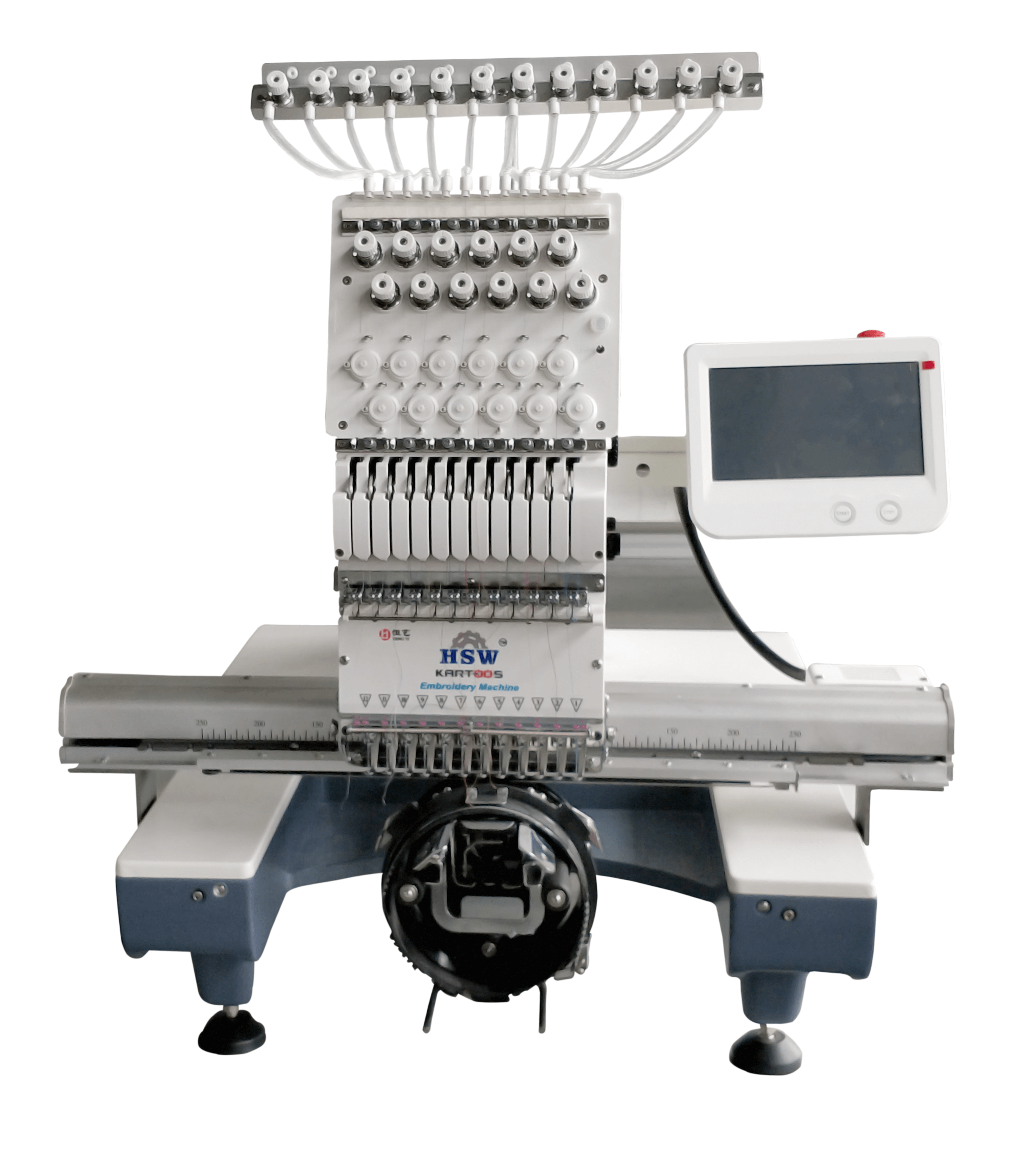 Single Head Embroidery Machine 3