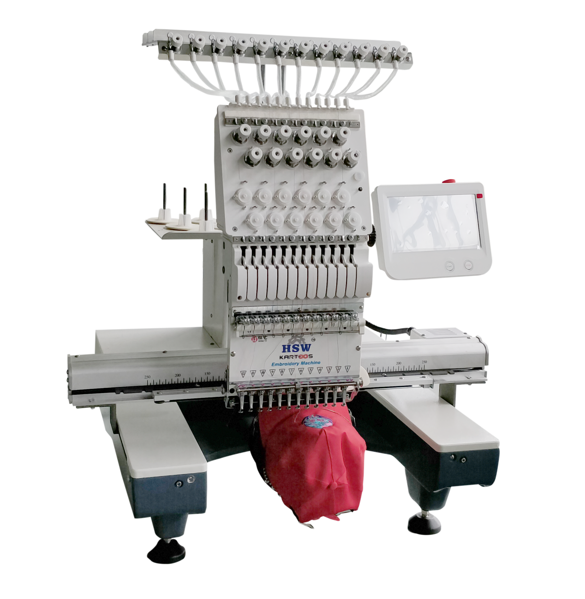 Single Head Embroidery Machine HSW